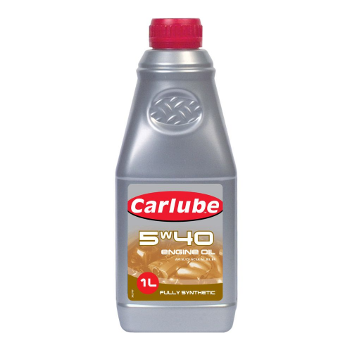 Carlube 5W-40 Fully Synthetic Engine Oil - 1L
